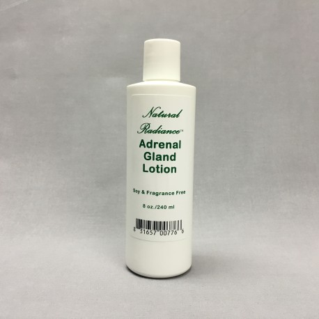 Natural Radiance Adrenal Gland Support Lotion (8oz bottle)