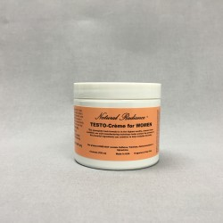 Natural Radiance Testo Crème for Women with DHEA (4oz Jar)